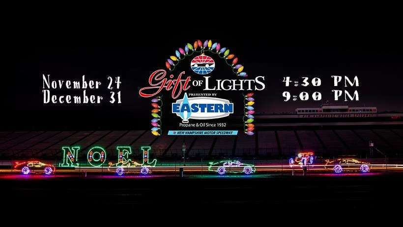 Christmas holiday happenings for 2017 red oak properties for New hampshire motor speedway christmas lights