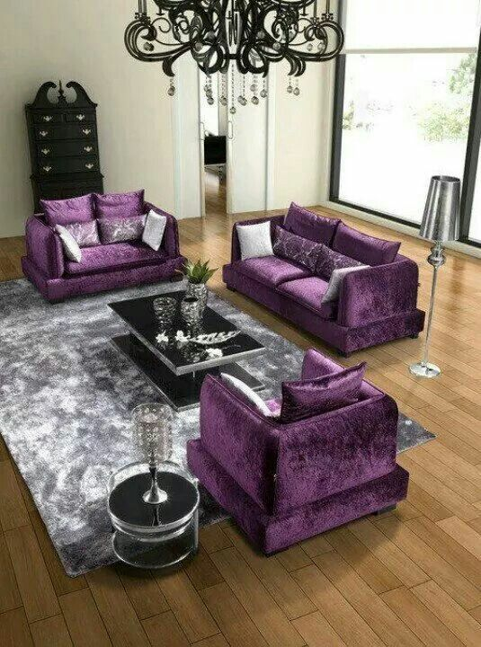 Purple Color Room Designs: Four Ways To Decorate Your Apartment With The 2018 Color