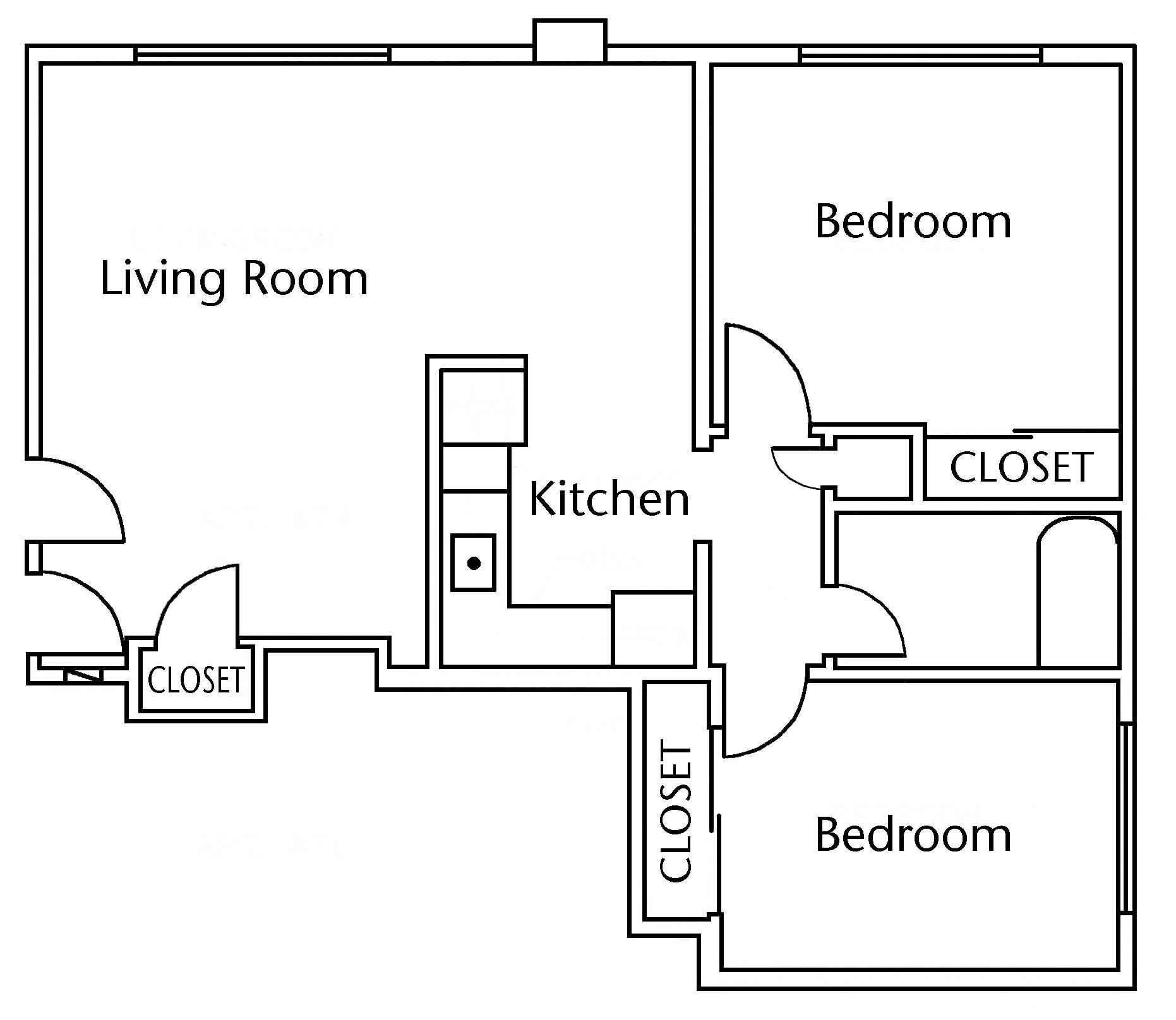 Affordable 1 Bedroom Apartments Near Me