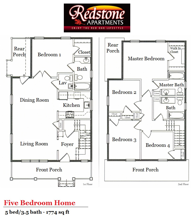 Floor plans for single family homes Regent heights floor plan