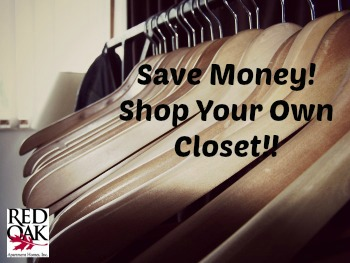 How to Save Money Shopping your Closet
