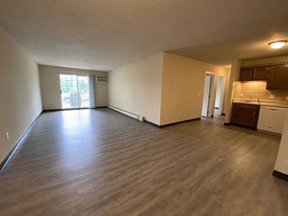 3 bedroom with wood style flooring