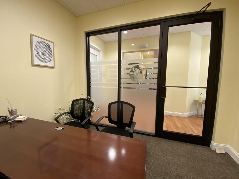 Resident business office - rear entry