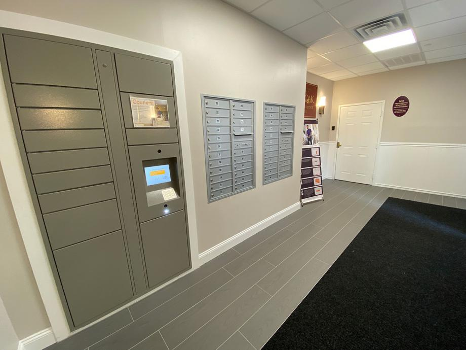 Secured package delivery lockers